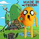 Игрушки животные, ручной работы. Ярмарка Мастеров - ручная работа. Купить Adventure Time Джейк крючком. Handmade. Желтый