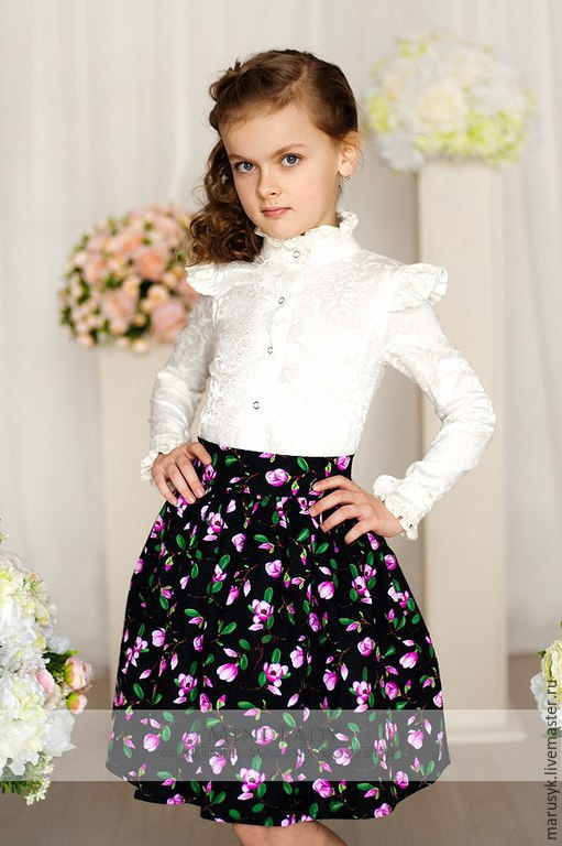 Купить Блузку Для Девочки Спб