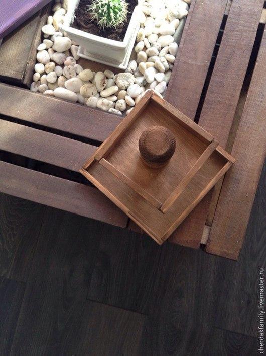 Кухня ручной работы. Ярмарка Мастеров - ручная работа. Купить Конфетница деревянная. Handmade. Коричневый, фруктовница, для кухни