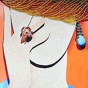 Материалы для творчества ручной работы. Ярмарка Мастеров - ручная работа ЦИТРИН  натуральный Нить 33см бусины гладкие 3мм. Handmade.