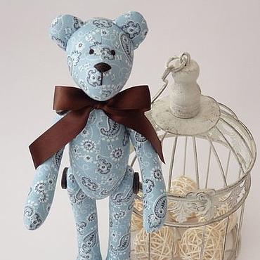 Куклы и игрушки ручной работы. Ярмарка Мастеров - ручная работа Мишка в стиле Тильда. Handmade.