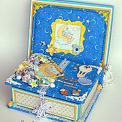 Открытки ручной работы. Ярмарка Мастеров - ручная работа Мамины сокровища в коробке. Handmade.