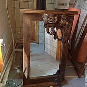 Для дома и интерьера ручной работы. Ярмарка Мастеров - ручная работа Зеркало ЛАВА. Handmade.