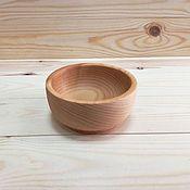Посуда handmade. Livemaster - original item Wooden dish D10, . Plate of cedar. Handmade.