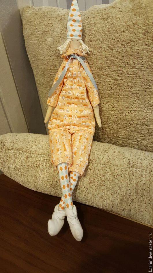 Куклы Тильды ручной работы. Ярмарка Мастеров - ручная работа. Купить Гном. Handmade. Бежевый, гном, подарок, колпак