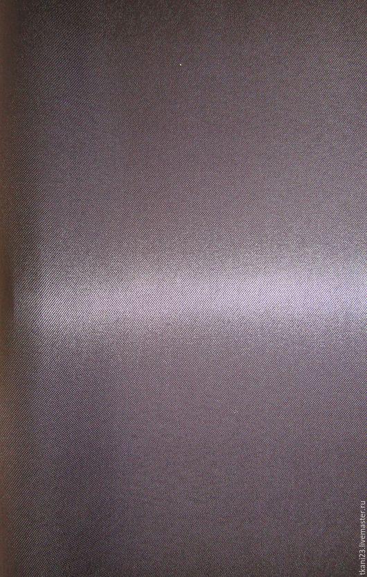 Шитье ручной работы. Ярмарка Мастеров - ручная работа. Купить Атлас стрейч плотный арт.34 КОС-1 (Корея) графитовый. Handmade.