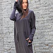 Одежда ручной работы. Ярмарка Мастеров - ручная работа Платье Double Black. Handmade.