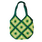 Сумки и аксессуары handmade. Livemaster - original item Women`s bag, Summer bag crochet Bag, boho. Handmade.