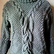 """Одежда ручной работы. Ярмарка Мастеров - ручная работа свитер """"Серый аристократ"""". Handmade."""