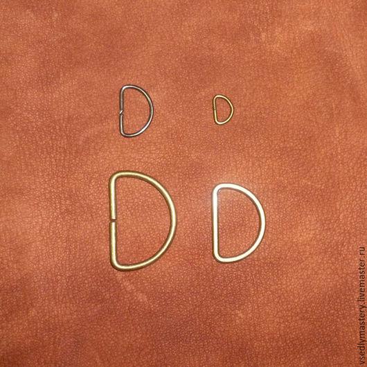 Другие виды рукоделия ручной работы. Ярмарка Мастеров - ручная работа. Купить Полукольца 4 размера. Handmade. Черный, полукольца