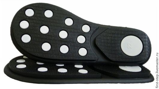 Обувь ручной работы. Ярмарка Мастеров - ручная работа. Купить Подошва. Handmade. Черный, подошва для ботинок, обувь для детей, пвх