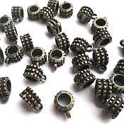 Материалы для творчества handmade. Livemaster - original item Bales, holders for pendants, pendants bronze. Handmade.