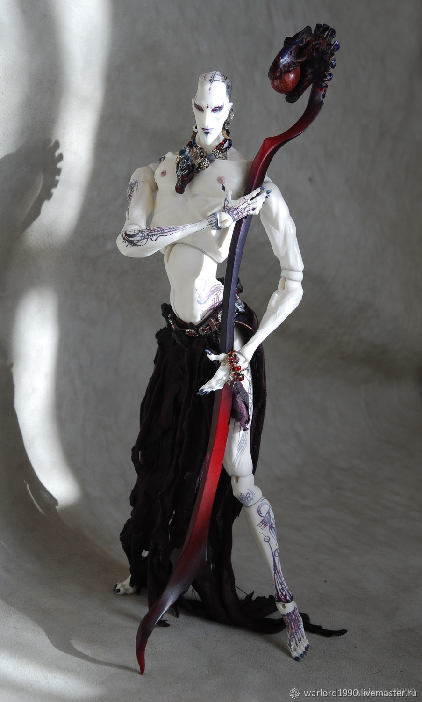 Шарнирная кукла Жрец Яма-Раджи, Шарнирная кукла, Санкт-Петербург,  Фото №1
