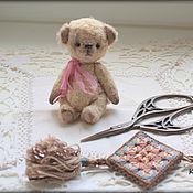 Куклы и игрушки ручной работы. Ярмарка Мастеров - ручная работа Мишка миник. Handmade.