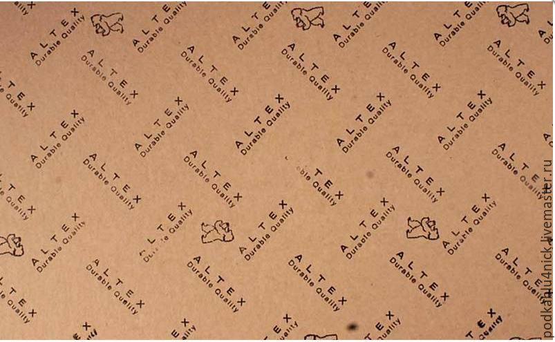 Картон обувной для стелек Италия, Материалы для работы с кожей, Липецк,  Фото №1