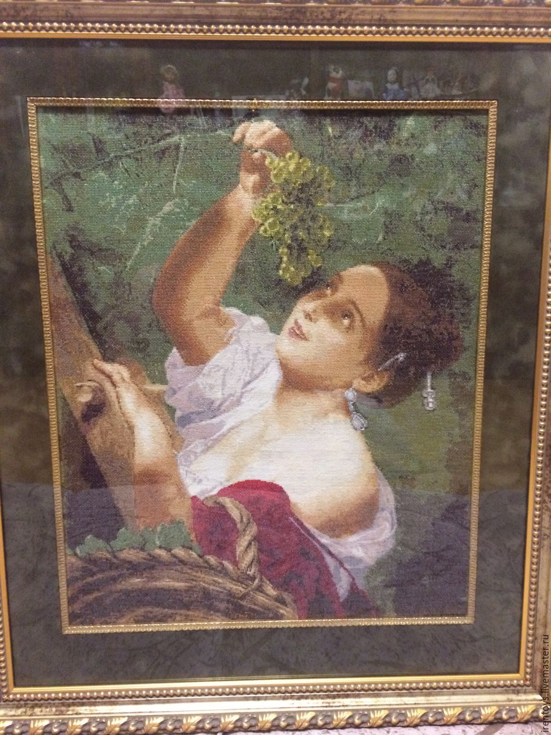 Cross stitch 'Italian midday', Pictures, Stavropol,  Фото №1
