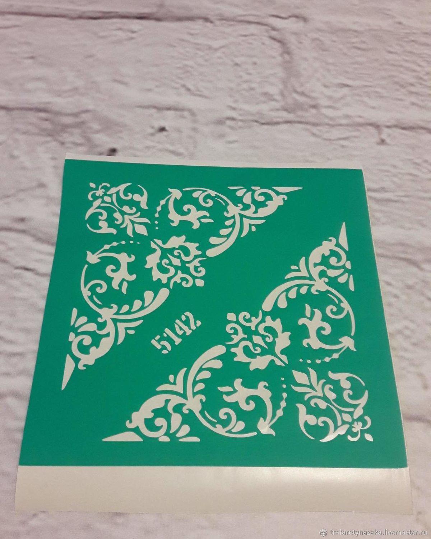 5142 adhesive-based Stencil reusable, Stencils, Orel,  Фото №1