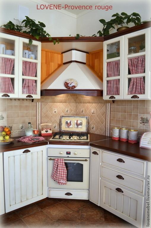 """Мебель ручной работы. Ярмарка Мастеров - ручная работа. Купить Кухня в стиле """"Прованс"""" из массива сосны. Handmade. Кухня Прованс"""