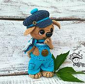 Куклы и игрушки handmade. Livemaster - original item Puppy Kuzma toy. Handmade.