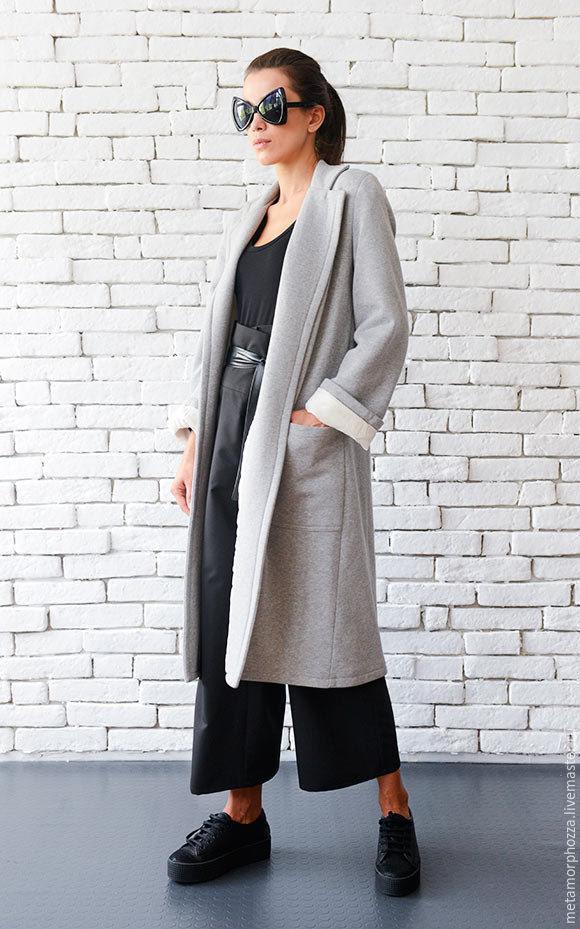 Copy of Copy of Extravagant Long Coat, Coats, Sofia,  Фото №1