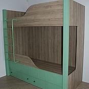 Мебель ручной работы. Ярмарка Мастеров - ручная работа Детская для двоих детей на заказ 3. Handmade.