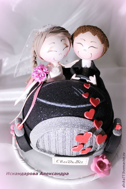 """Миниатюрные модели ручной работы. Ярмарка Мастеров - ручная работа. Купить """"Ах, эта свадьба, свадьба"""" Куклы из Фом Эва. Handmade."""
