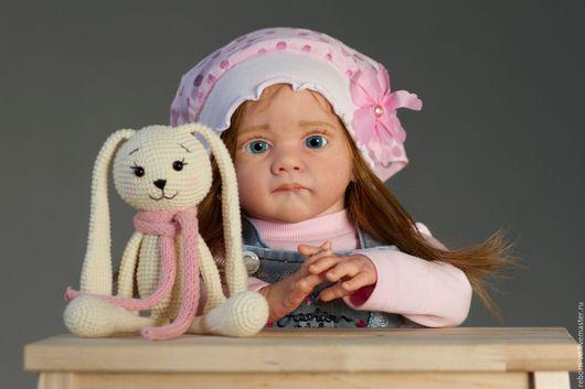 Коллекционные куклы ручной работы. Ярмарка Мастеров - ручная работа. Купить Кукла Дашенька ( молд Фрида). Handmade. Кремовый