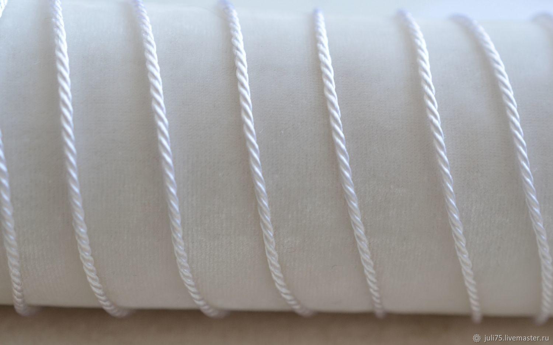 Шнур витой вискозный 1,8 мм, Греция, Аксессуары для вышивки, Москва,  Фото №1