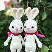 Куклы и игрушки handmade. Livemaster - original item rabbits. Handmade.