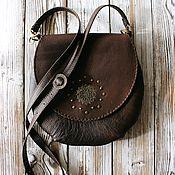 Сумки и аксессуары handmade. Livemaster - original item Bag made of genuine leather in the style of boho
