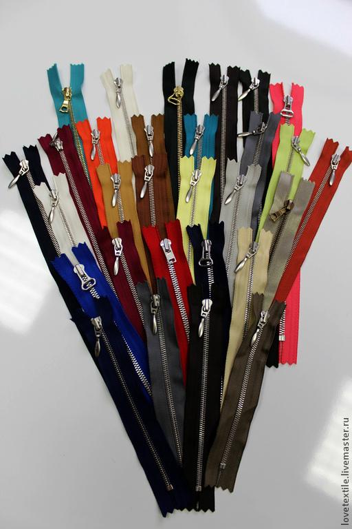 Шитье ручной работы. Ярмарка Мастеров - ручная работа. Купить Молния Excella. Handmade. Разноцветный, фурнитура, молния