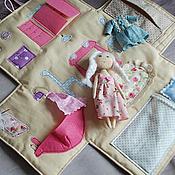 Куклы и игрушки ручной работы. Ярмарка Мастеров - ручная работа Домик с куклой. Handmade.