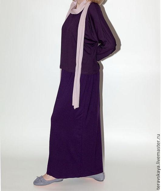 Блузки ручной работы. Ярмарка Мастеров - ручная работа. Купить Туника  Виола. Handmade. Блуза из шелка, блуза, блузка из хлопка