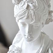 Для дома и интерьера handmade. Livemaster - original item Bust girls from gypsum for interior decoration, the Provence classic. Handmade.