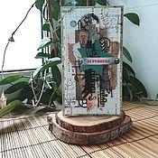 Открытки ручной работы. Ярмарка Мастеров - ручная работа Мужская поздравительная открытка (в ассортименте). Handmade.