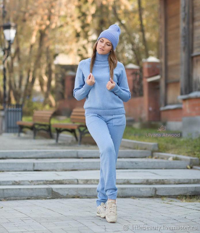b4b3b0a4 Вязаный спортивный костюм – купить в интернет-магазине на Ярмарке ...