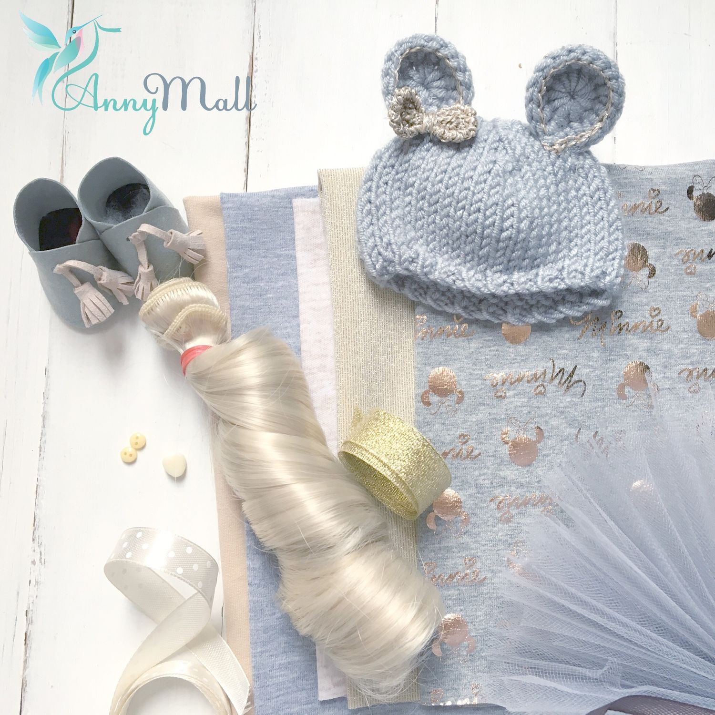 Набор для создания куклы «Микки Gold», Материалы для кукол и игрушек, Одинцово,  Фото №1