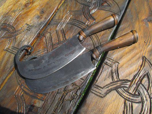 Кухня ручной работы. Ярмарка Мастеров - ручная работа. Купить Габалинский нож (гиймякеш).. Handmade. Мясо, нож гиймякеш