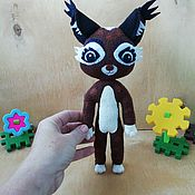 Куклы и игрушки handmade. Livemaster - original item lynx Yara m/f Leo and TIG. Handmade.