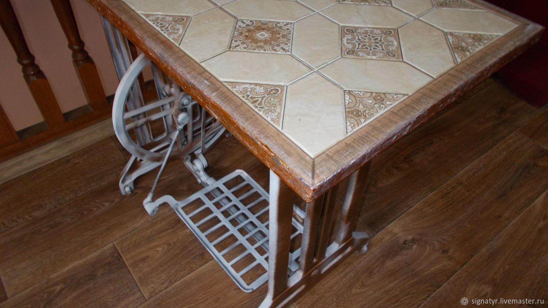 Table on a cast iron frame Arabica 2, Tables, Orenburg,  Фото №1