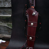 handmade. Livemaster - original item Scabbard saddle holster type in the style of Western fashion.4.1. Handmade.
