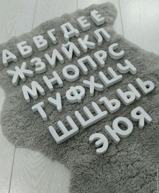 Развивающие игрушки ручной работы. Ярмарка Мастеров - ручная работа. Купить Русский алфавит из дерева ручной работы. Handmade. Алфавит