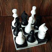"""Косметика ручной работы. Ярмарка Мастеров - ручная работа Мыло""""Шахматы """". Handmade."""