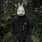 Куклы и игрушки handmade. Livemaster - original item Follow the white rabbit.... Handmade.