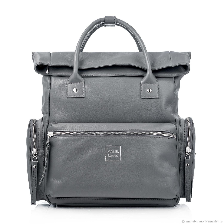 Рюкзак COSMO серый GREY / NICKEL, Рюкзаки, Санкт-Петербург,  Фото №1