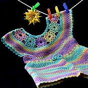 Туники ручной работы. Ярмарка Мастеров - ручная работа Туники:  Цветик-семицветик. Handmade.