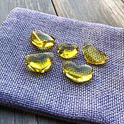 Материалы для творчества handmade. Livemaster - original item Amber. Hearts of amber for creativity. Handmade.