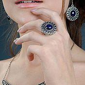 Украшения handmade. Livemaster - original item Ring Theophany (aventurine). Handmade.