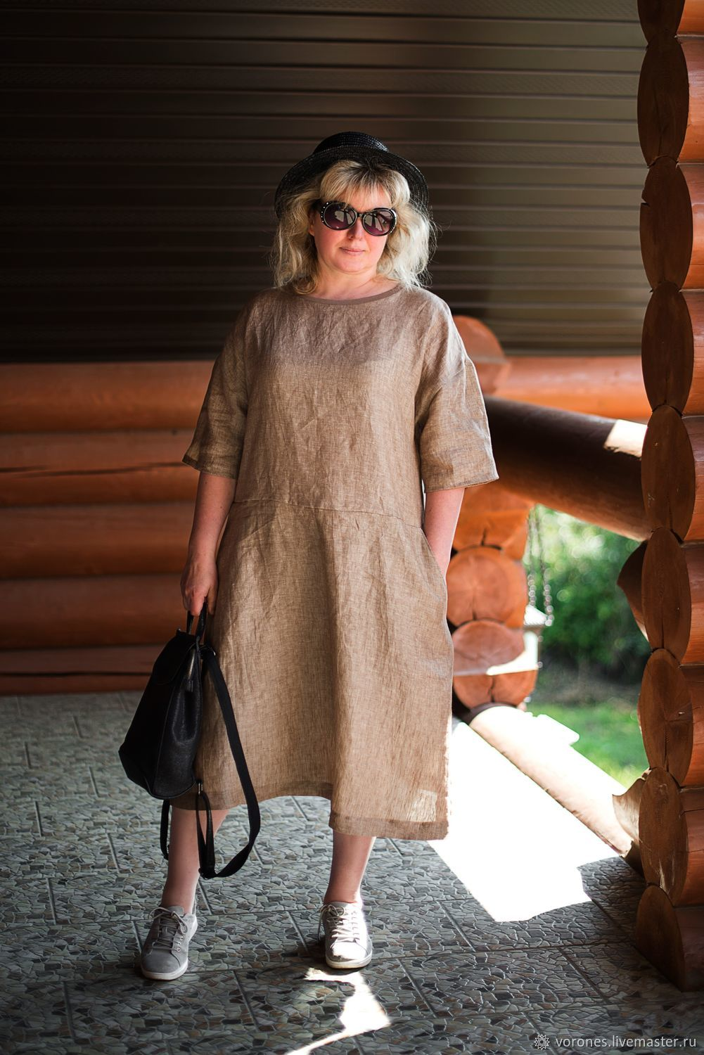 Summer dress casual. Color beige, Dresses, Moscow,  Фото №1