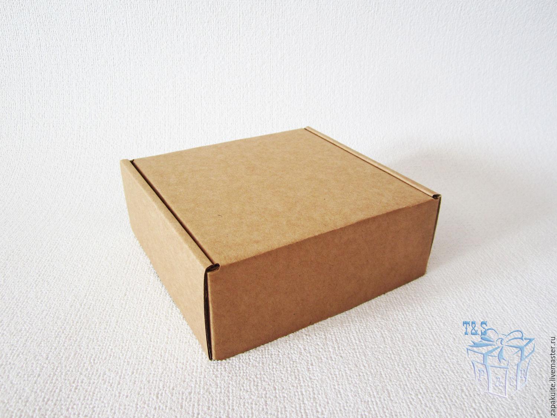 Как сделать крафт коробку 489